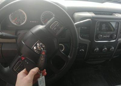Dodge Ram z 2013 .